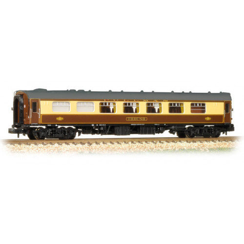 374-222 BR Mk1 FK Pullman First Kitchen Car 'Thrush' Umber & Cream