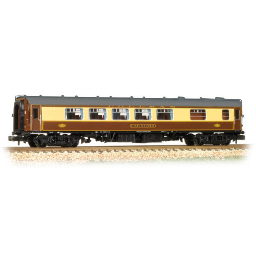 374-232 BR Mk1 SK Pullman Second Kitchen Car 'Car 343' Umber & Cream