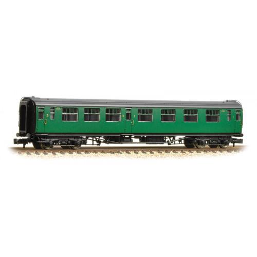 374-462 Bullied 63ft Composite Corridor Coach in BR (SR) Malachite Green
