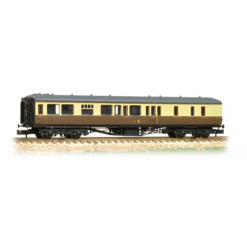 374-511 Hawksworth Brake 3rd Class Corridor GWR Chocolate & Cream