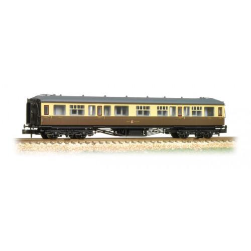 374-561 Hawksworth Corridor 1st/3rd Composite GWR Chocolate & Cream