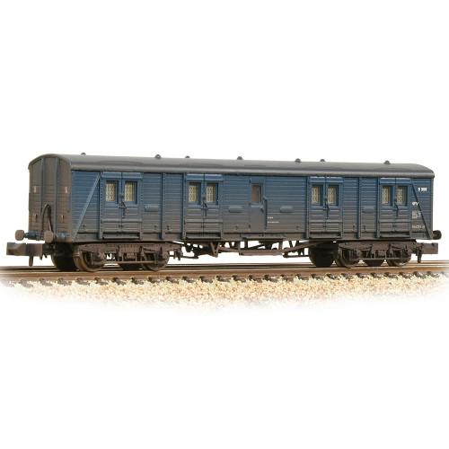 374-632A SR Bogie B Luggage Van in BR Blue - Weathered