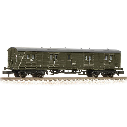 374-633 SR 50' Bogie B Luggage Van in BR Departmental Olive Green Livery