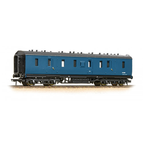 374-890 50ft Ex-LMS Full Brake Coach in BR Blue Weathered