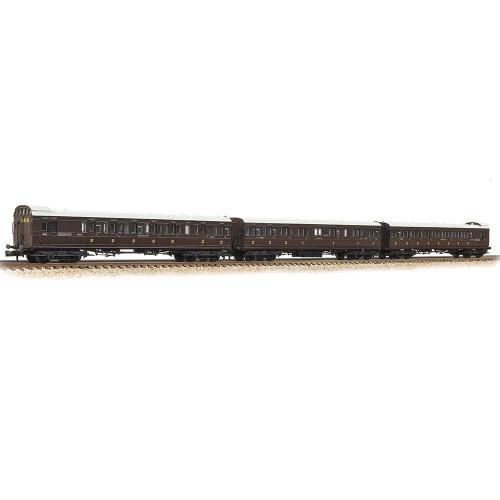374-910 SECR 60' Birdcage Stock in SECR Wellington Brown - 3 Pack