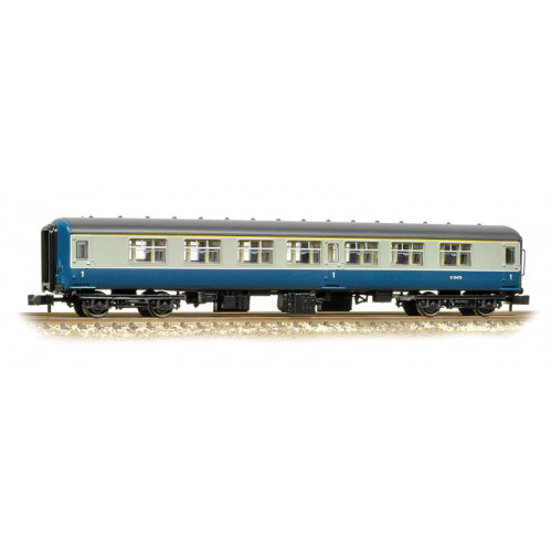 374-950A MK2A FK First Class Corridor Coach in BR Blue & Grey