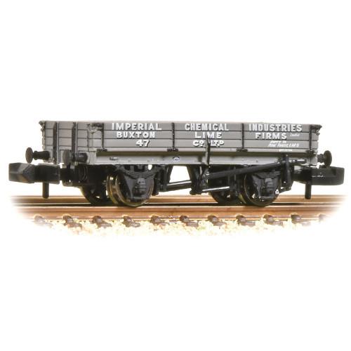 377-500B 3 Plank WagonI.C.I. Buxton Lime Grey