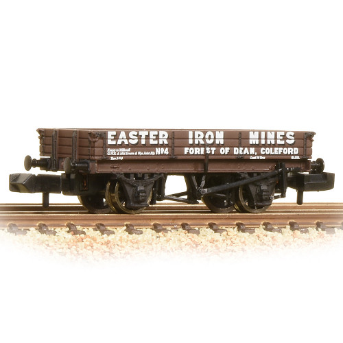377-506 3 Plank Wagon Easter Iron Mines Brown