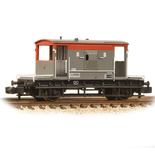 377-535A 20 Ton Brake Van in BR Railfreight Livery