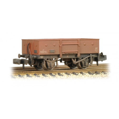 377-955 13 Ton High Sided Steel Wagon BR Bauxite (Early) Weathered