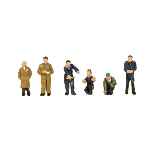 379-316 Factory Workers & Foreman