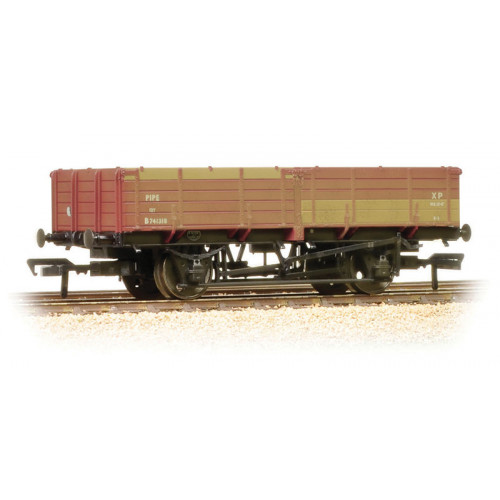 38-700A 12 Ton Pipe Wagon in Early BR Bauxite Livery - Weathered