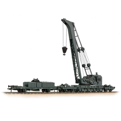 38-801 Ransomes & Rapier 45 Ton Breakdown Crane in GWR Black