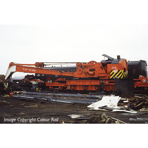 38-802 Ransomes & Rapier 45 Ton Breakdown Crane in BR Black with Early Emblem