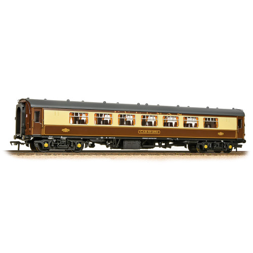 39-310C BR Mk1 SP Pullman Second Parlour with Lighting in Umber & Cream