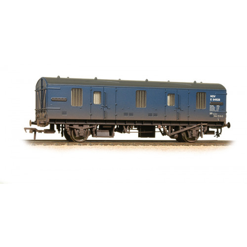 39-551 BR Mk.1 NOV (EX- CCT) Covered Carriage Truck in BR Blue - Weathered