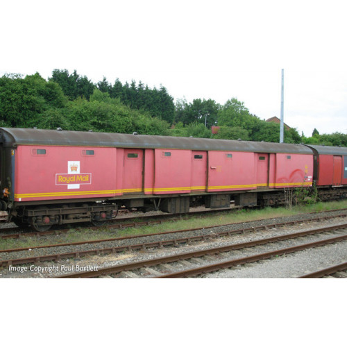 39-765 BR Mk1 TPO POT Stowage Van Royal Mail Travelling Post Office Red