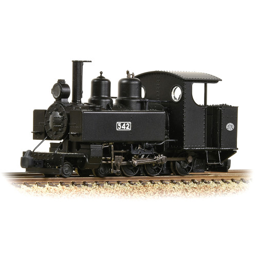 391-025A Baldwin Class 10-12-D Steam Locomotive No.542 in WW1 ROD Black Livery