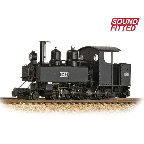 391-025ASF Baldwin 10-12-D Tank Locomotive No.542 in Railway Operating Division Black Livery - Sound Fitted