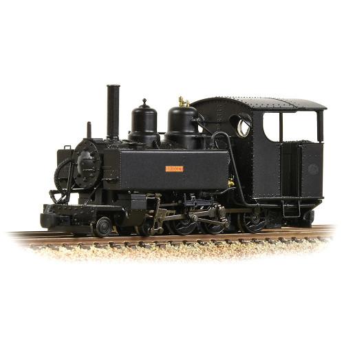 391-028A Baldwin Class 10-12-D Steam Locomotive Bridget in Ashover Black Livery