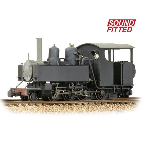 391-030SF Baldwin 10-12-D Tank Locomotive No.4 in Snailbeach District Railways Black Livery - Sound Fitted