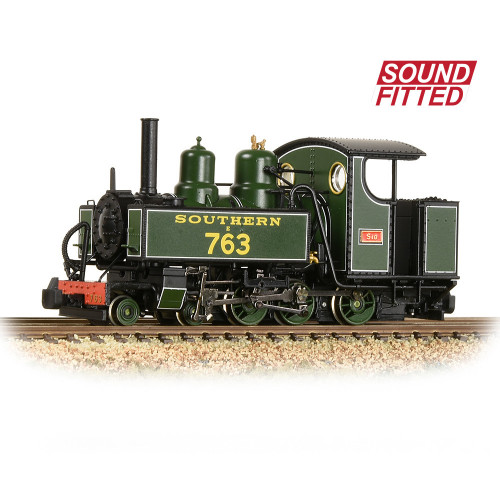 391-032SF Baldwin 10-12-D Tank Locomotive No.E763 Sid in SR Maunsell Green Livery - Sound Fitted