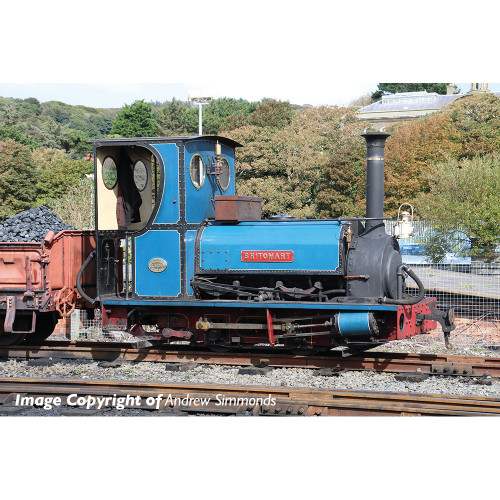 391-051 Quarry Hunslet 0-4-0 Steam Locomotive Britomart in Pen-yr-Orsedd Quarry Blue Livery
