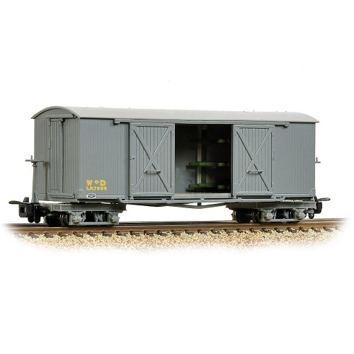 393-025A Bogie Covered Ambulance Van in WD Grey Livery