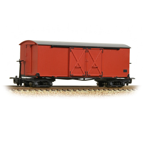 393-027 Covered Goods Wagon in Lincolnshire Coast Light Railway Crimson Livery