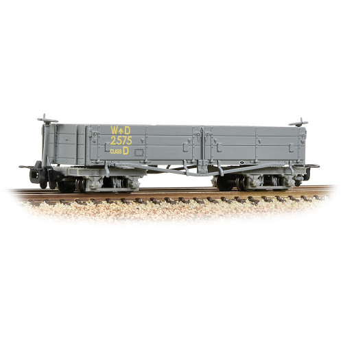 393-050A Open Bogie Wagon in WD Grey Livery