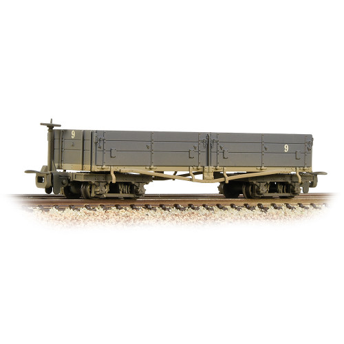 393-051A Open Bogie Wagon in Nocton Estates L.R. Grey Livery - Weathered