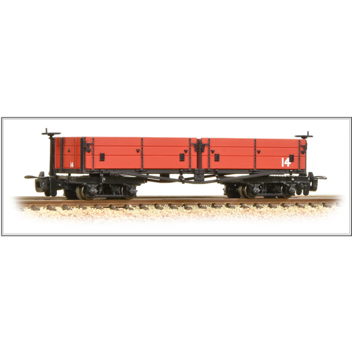 393-053 Open Bogie Wagon in Welsh Highland Red