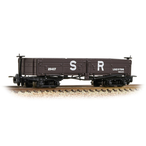 393-054 Open Bogie Wagon in SR Brown Livery