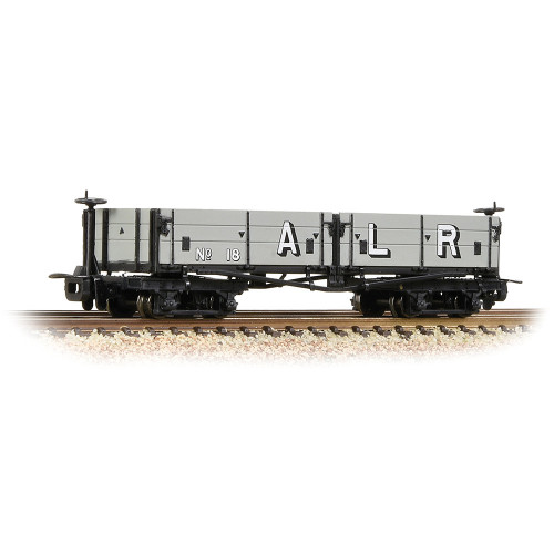 393-055 Open Bogie Wagon in Ashover Railway Light Grey (Early) Livery