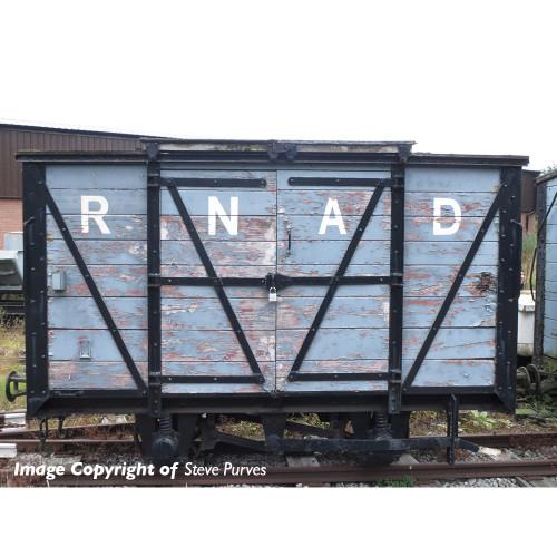 393-125 RNAD Van in RNAD Grey Livery