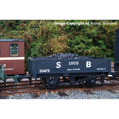 393-150 RNAD Rebuilt Open Wagon in Statfold Barn Railway Grey Livery