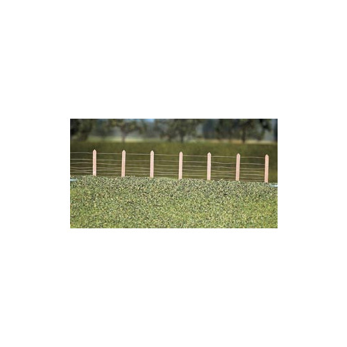 423 Ratio Kit GWR Lineside Fencing, (36 posts with wire) - 00 Gauge
