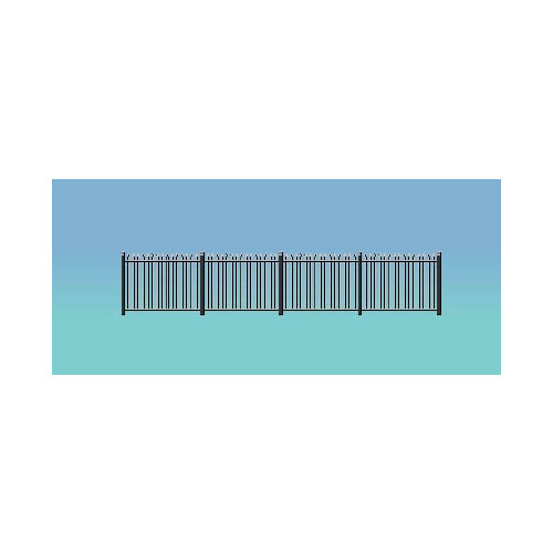 434 Ratio Kit Spear Fencing (Staight only) - 00 Gauge