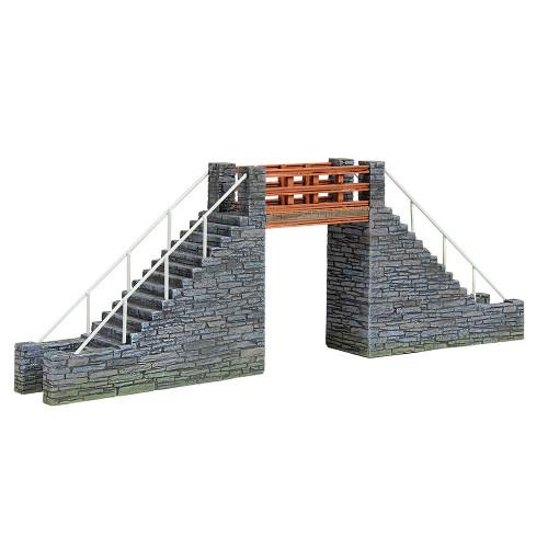 44-0107 Scenecraft Narrow Gauge Slate Footbridge