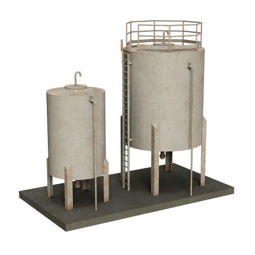 44-0110 Scenecraft Depot Storage Tanks