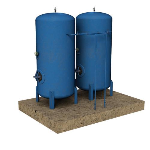 44-0112 Scenecraft Cylindrical Tanks