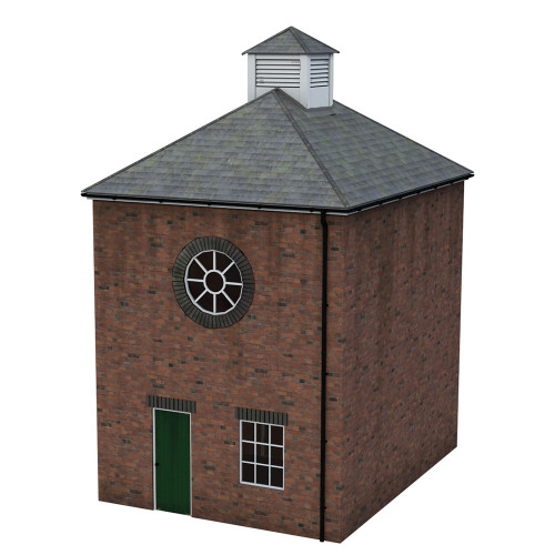 44-0113 Scenecraft Brick Boiler Room