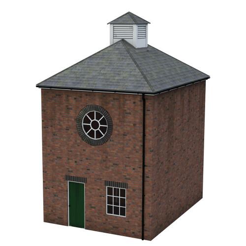 44-0113 Scenecraft Brick Boiler Room