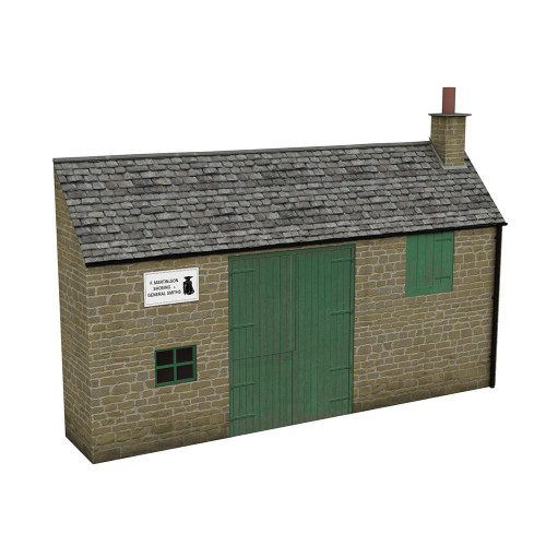 44-0200 Scenecraft Low Relief Honey Stone Smithy
