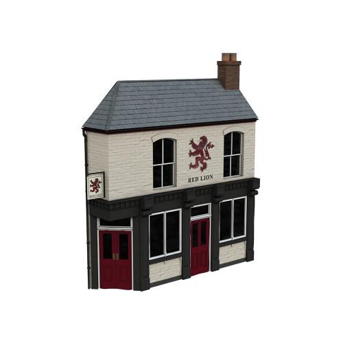 44-0201 Scenecraft Low Relief Corner Pub, The Red Lion