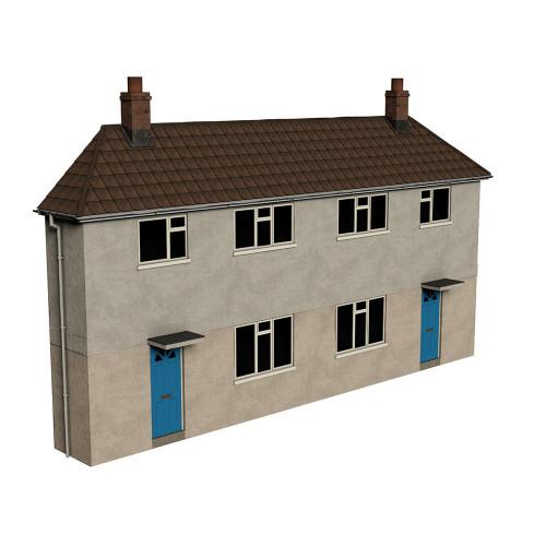 44-0202 Scenecraft Low Relief Municipal Reinforced Concrete Housing