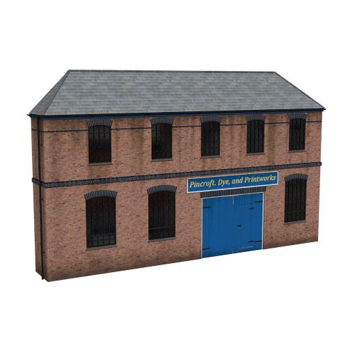 44-0205 Scenecraft Low Relief Victorian Factory Front