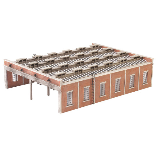 44-050 Scenecraft Four Road Engine Shed