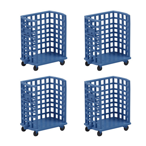 44-517 BRUTE Trolleys (x4)