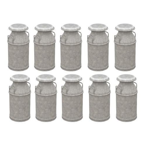 44-521 Milk Churns (x10)